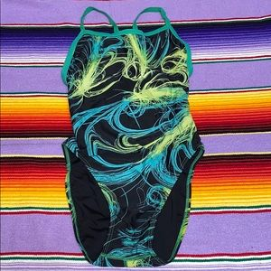 Sporti one piece bathing suit